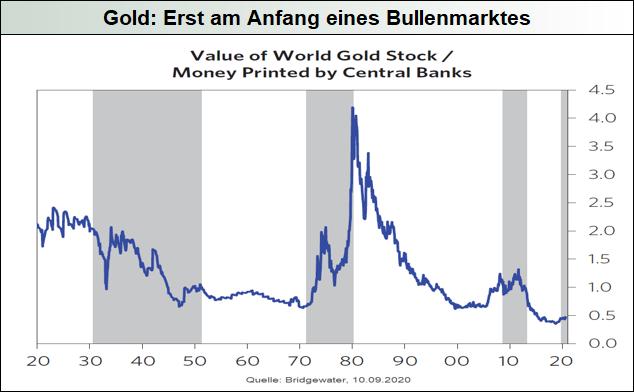 Gold: Erst am Anfang eines Bullenmarktes