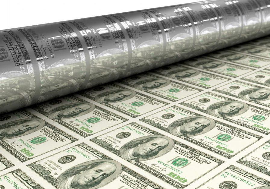 Fed-Inflations-Druckerpresse